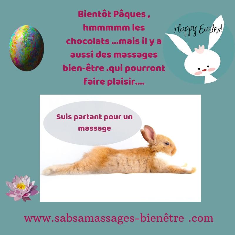 Massages de Pâques …